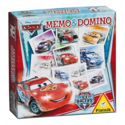 Pexeso a domino Cars Ice racers