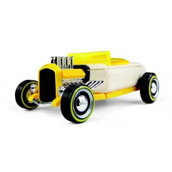 Automoblox Mini Hot Rod HR2 - žlutý